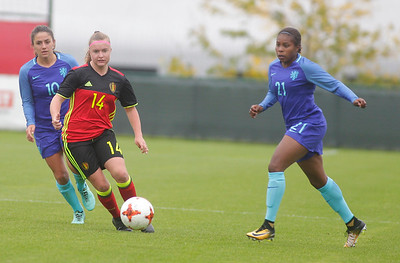 Belgian Red Flames v The Netherlands - Friendly