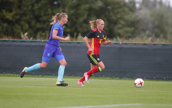 Belgian Red Flames v The Netherlands - Friendly