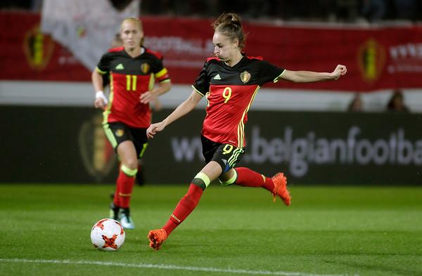 Belgium v Romania - Womens World Cup 2019 Qualifier