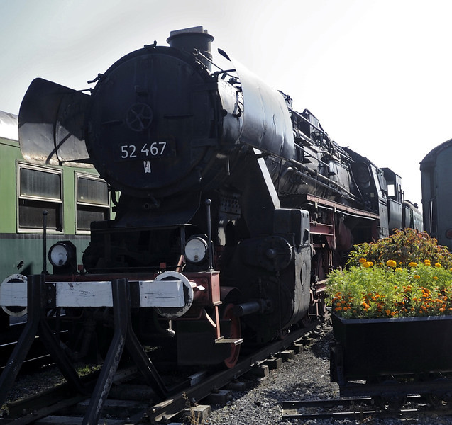 52 467, Mariembourg, Sat 24 September 2011.  Built by Borsig in 1942.