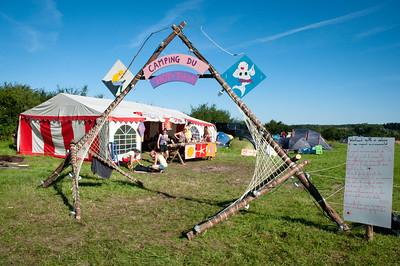 Woodscout - Le camping se prépare à accueillir plusieurs milliers de scouts et guides belges