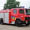 A52 Halfzware autopomp Mercedes 1124 F automaat Vanassche, 1997<br /> Afkomstig van brandweer Genk, in dienst vanaf 2016.