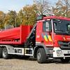 L53 Haakarm + kraan Mercedes Actros MP3 2641L 6x4 Leebur Multilift - Vanassche, 2013 <br /> Verplaatst in 2015 van post Maasmechelen naar post Maaseik.
