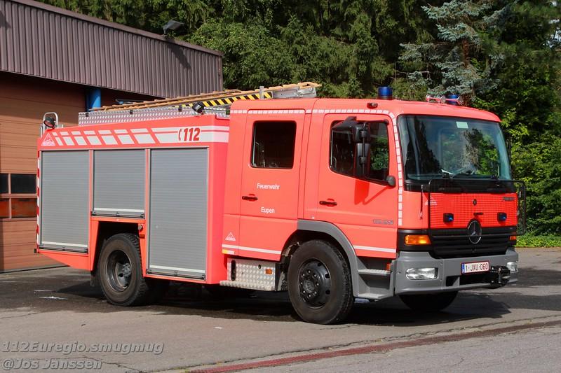 Materiaalwagen Mercedes Atego 1225F Vanassche, 2002