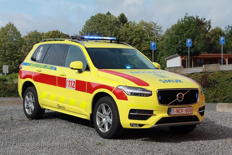 MUG - SMUR Hospital St. Nikolaus Eupen, Volvo XC90 Miesen, 2016