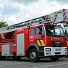 Ladderwagen 30 mtr. MAN LE 18.280 Magirus DLK 23-12 CS Fire Technics (EX Brussel E17), 2004 - 2013