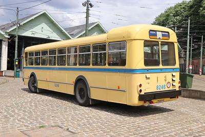 Brussels Tram Museum 8246 Woluwe Depot 2 Jun 17