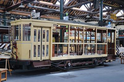 Brussels Tram Museum Unmarked Woluwe Depot Jun 17