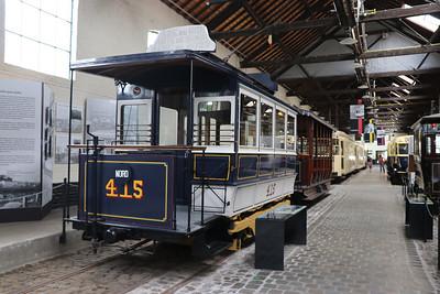 Brussels Tram Museum 415 Woluwe Depot Jun 17