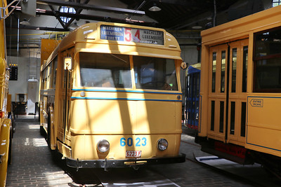 Brussels Tram Museum 6023 Woluwe Depot 2 Jun 17