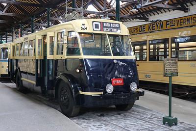 Brussels Tram Museum BYRHH Woluwe Depot 1 Jun 17