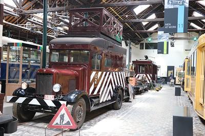 Brussels Tram Museum 5111P Woluwe Depot Jun 17