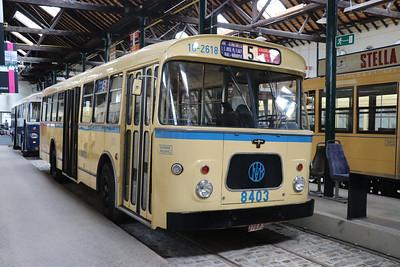 Brussels Tram Museum 8403 Woluwe Depot Jun 17