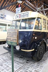 Brussels Tram Museum BYRHH Woluwe Depot 4 Jun 17