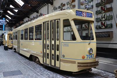 Brussels Tram Museum 7047 Woluwe Depot Jun 17