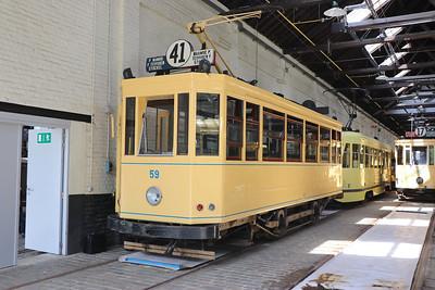 Brussels Tram Museum 59 Woluwe Depot Jun 17