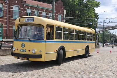 Brussels Tram Museum 8246 Woluwe Depot 1 Jun 17