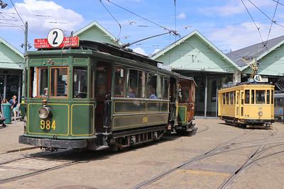 Brussels Tram Museum 984_59 Woluwe Depot Jun 17