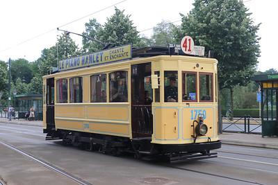 Brussels Tram Museum 1750 Avenue de Tervuren Brusssels Jun 17