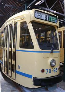 Brussels Tram Museum 7065 Woluwe Depot Jun 17