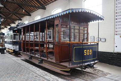 Brussels Tram Museum 509 Woluwe Depot Jun 17
