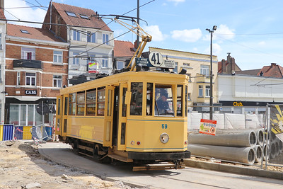 Brussels Tram Museum 59 Place Dumon Stocken Brusssels 2 Jun 17