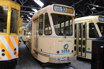 Brussels Tram Museum 9098 Woluwe Depot Jun 17