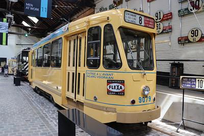 Brussels Tram Museum 9079 Woluwe Depot Jun 17