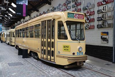 Brussels Tram Museum 5018 Woluwe Depot Jun 17