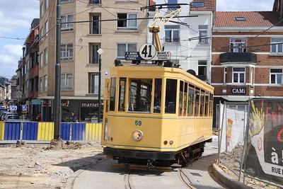 Brussels Tram Museum 59 Place Dumon Stocken Brusssels 1 Jun 17