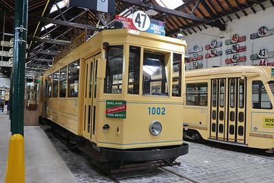 Brussels Tram Museum 1002 woluwe Depot Jun 17