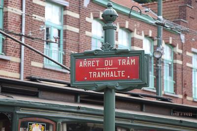 Brussels Tram Museum TramHalte Woluwe Depot Jun 17