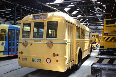 Brussels Tram Museum 6023 Woluwe Depot 1 Jun 17