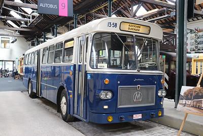 Brussels Tram Museum 435PS Woluwe Depot Jun 17