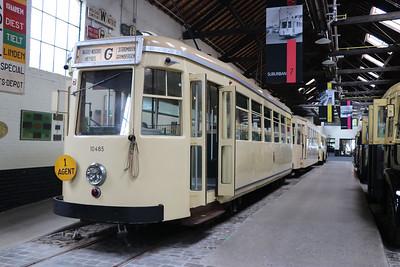 Brussels Tram Museum 10485 Woluwe Depot Jun 17