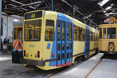 Brussels Tram Museum 7016 Woluwe Depot Jun 17