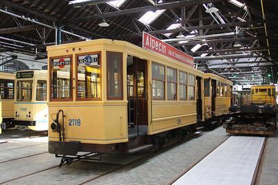 Brussels Tram Museum 2118 Voluwe Depot Apr 13