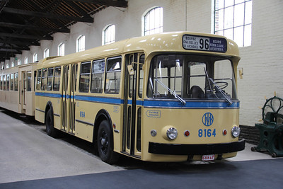 Brussels Tram Museum 8164 Voluwe Depot 1 Apr 13
