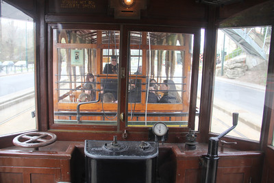 Brussels Tram Museum 984 Interior Avenue de Tervuven Brussels 1 Apr 13