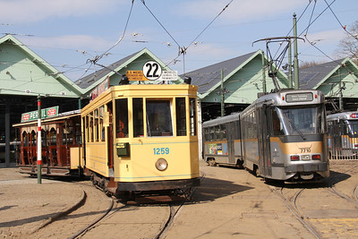 Brussels Tram Museum 1259_29_STIB 7710 Voluwe Depot Apr 13
