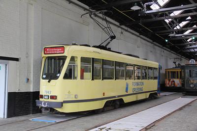 Brussels Tram Museum 7042 Voluwe Depot Apr 13