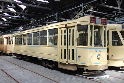 Brussels Tram Museum 5016 Voluwe Depot Apr 13