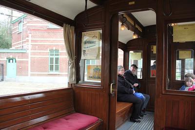 Brussels Tram Museum 984 Interior Voluwe Depot Apr 13