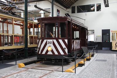Brussels Tram Museum 261 Voluwe Depot Apr 13