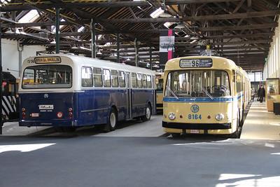 Brussels Tram Museum 1358_8164 Voluwe Depot Apr 13