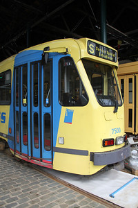 Brussels Tram Museum 7500 Voluwe Depot 2 Apr 13