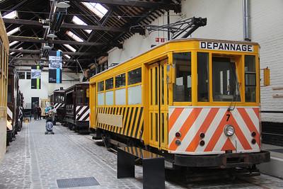 Brussels Tram Museum 7 Voluwe Depot 1 Apr 13