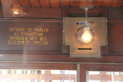 Brussels Tram Museum 984 Interior Avenue de Tervuven Brussels 2 Apr 13