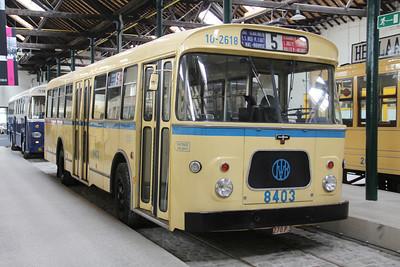 Brussels Tram Museum 8403 Voluwe Depot 1 Apr 13