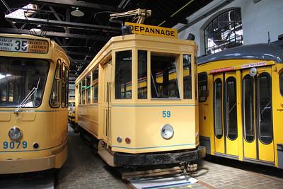 Brussels Tram Museum 59 Voluwe Depot Apr 13